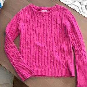 Girls Pink 💓Sweater Size 6